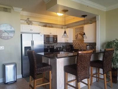 Photo for SPECTACULAR REMODEL! DESTIN WEST GULF 611! PENTHOUSE VIEW! FREE BEACH SERVICE!!