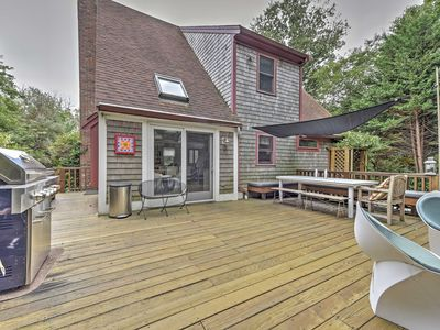 Photo for Private Dennis Home w/Large Deck - 5 Min to Beach!