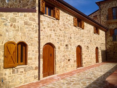 Photo for Baia stalla Beautiful stone countryhouse