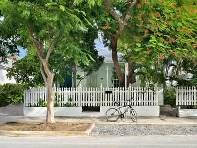 Photo for Caribbean Cottage ~ Duval Street Key West Caribbean Cottage With Private Pool