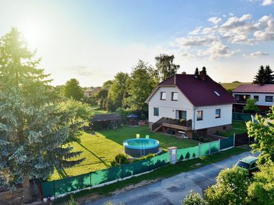 Photo for Detached villa in South Bohemia with outdoor pool in the fenced garden