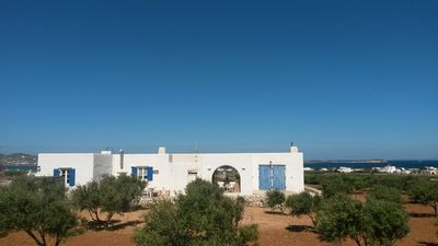Photo for THE WHITE HOUSE: exact white point to explore island Paros