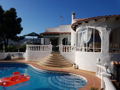 Photo for Spatious villa with large pool close to golf course and many local ameneties