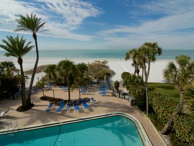 Photo for Private Beachfront  and Pool, Tennis Court ,Siesta Key Condo w/ all Amenities