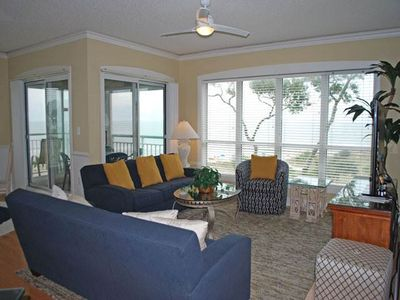 Photo for 4th floor, ocean front villa in Palmetto Dunes!