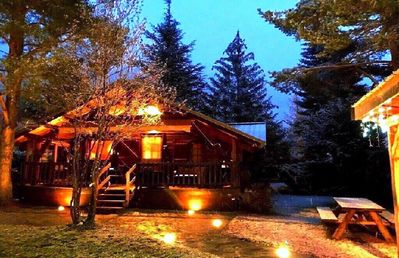 Photo for Warm chalet in a setting of lakes, rivers, mountains, in the country of the Ecrins