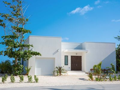 Photo for Blue Horizon: Newly Built Oceanfront Villa with Pool, Beach Pergola, & Stunning Views!
