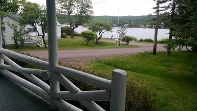View from your front porch of Eagle Harbor