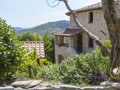 Photo for Rustic Villa surrounded by Tuscany Mountains, with private pool