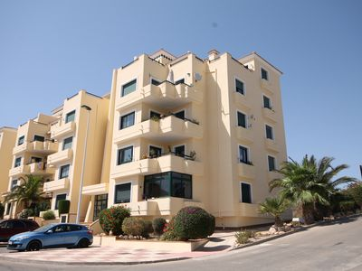 Photo for Immaculate Golf Complex Apartment with Sea View, close to all amenities