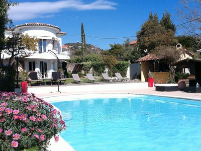 Photo for BEAUTIFUL VILLA WITH POOL 5 MIN FROM THE SEA