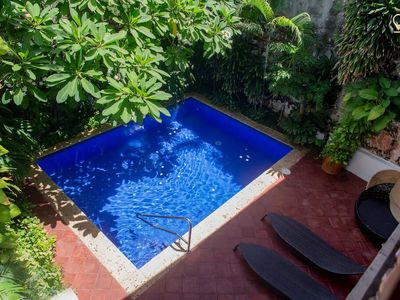 Photo for Grand 20 Bed Colonial Villa with Pool and Large Terrace in Cartagena's Old City