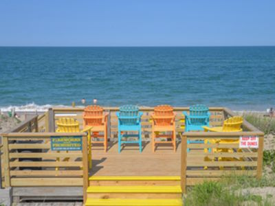 Photo for OCEANFRONT, PET FRIENDLY BEAUTIFUL 2 LEVEL CONDO
