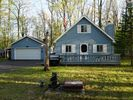 3BR Chalet Vacation Rental in Roscommon, Michigan