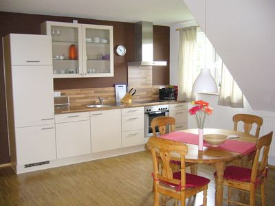 Photo for nice apartment with roof terrace for 2 persons