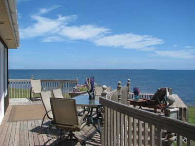 Photo for Spectacular Oceanfront Beach House, Panoramic View, Private Beach