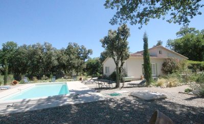 Photo for Special Summer Offer: Air Conditioning;  Provencal Villa , Park,  Pool + Cottag