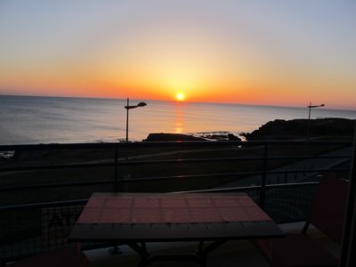 Photo for T2 apartment, magnificent SEA VIEW, free WIFI, garage, 2 bicycles available