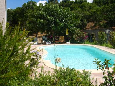 Photo for Villa with private pool Porticcio Ruppione 150m from the beach