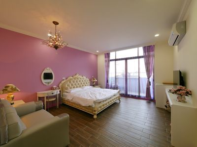 Photo for Double Room Near Downtown Tainan - French Style, Pets Allowed