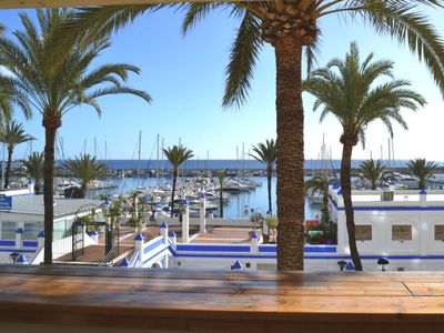 Photo for Great frontline apartment with marvelous views  and spacious terrace! Welcome.
