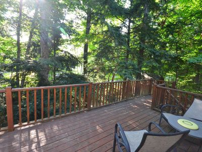 Photo for Our Shared Joy-Northport-Wooded setting-Budget friendly