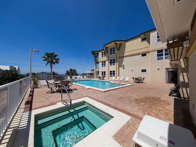 Photo for Beautiful Mexico Beach! Oceanview! Heated Pool!
