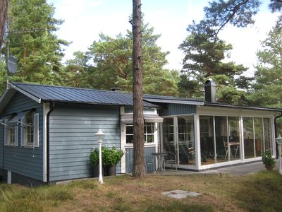 Photo for Lovely cottage in Furuboda close to the beautiful sandy beach