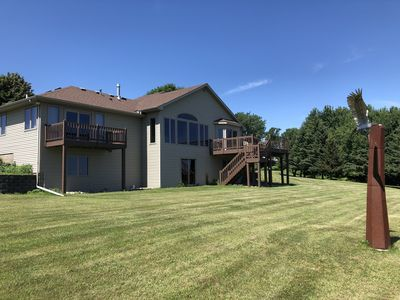 Photo for Gorgeous Home overlooking Chippewa and Mississippi Rivers