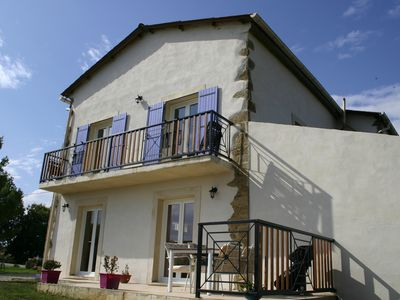 Photo for Polfages where the mountains meet the sea, 3 Gites With Pool And Stunning Views