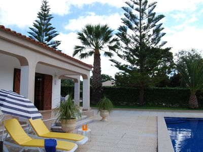 Photo for Modern Villa with large private heated swimming pool and hot tube