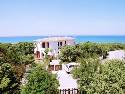 Photo for Villa Eden Beach, for 6 people, 50 meters from the beach, with garden