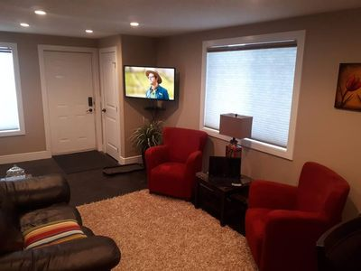 Photo for EaziRose Basement Suite with Separate Entrance