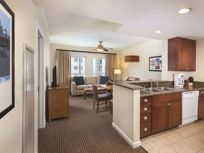 Photo for Spacious Condo Across from the Pier w/ Beach Access, Resort Pool & Free WiFi