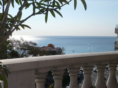Photo for 100 Ft from Beach, Large 2 BR Flat + Terrace + Pool ! Luxe !