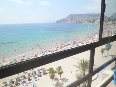 Photo for 1st LINE BEACH PROMOTION FROM JANUARY TO FEBRUARY 595 EUROS PER MONTH