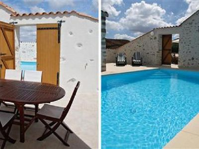 Photo for Spacious character house with private heated fenced pool