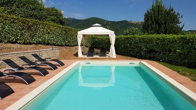 Photo for A Wonderful Villa with Private Pool in a Picturesque Hilltop Tuscan Village