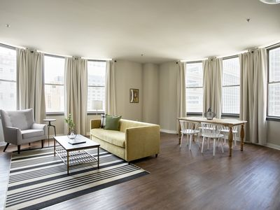 Photo for Sonder | Liberty Place | Gorgeous 2BR + Laundry