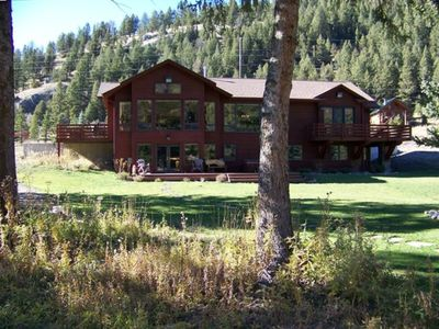 Photo for Moose Landing - Gorgeous Home on the Beautiful Gallatin River