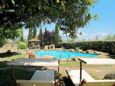 Photo for 4 bedroom Villa, sleeps 8 in Battifolle with Pool and WiFi