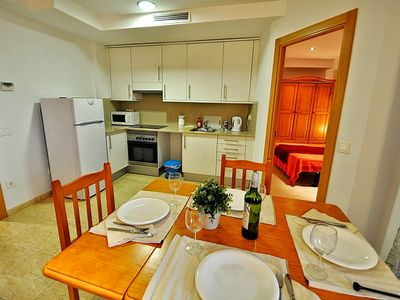 Photo for Apartment Acacias, 250m from the beach, with air conditioning, terrace, wi-fi