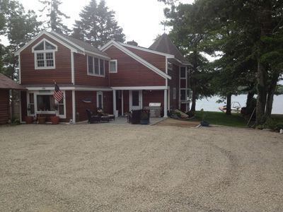 Photo for Beachfront On John's Pond, Indoor HEATED Pool, and Dock!