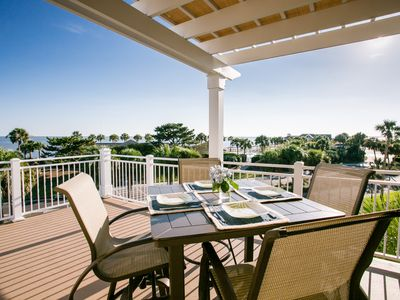 Photo for Top Level Villa in Seabrook Island with Gorgeous Oceanviews