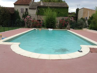 Photo for Studio with pool in Provence, suited for disabled