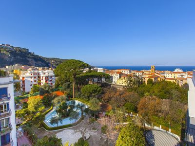 Photo for Amore Apartment with Shared Pool, Terraces, Air Conditioning and Garden
