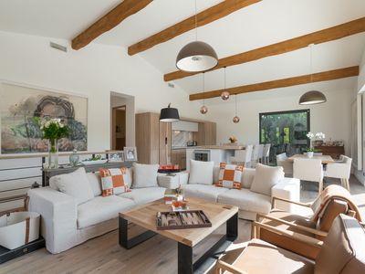 Photo for VILLA TROPEZIENNE, Beautiful new villa with pool in the heart of SAINT TROPEZ