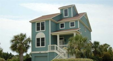 Photo for Seaside: 4 BR / 4 BA condo in Pawleys Island, Sleeps 10