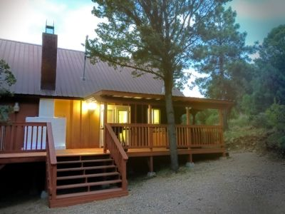 Photo for Calm and secluded cabin with amazing views.