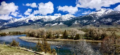 Photo for Stunning views right on the Majestic Yellowstone River!